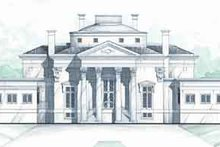 House Plan Design - Classical Exterior - Front Elevation Plan #119-191