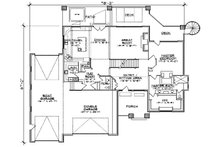 Floor Plan - Main Floor Plan Plan #5-461