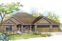 Home Plan - Craftsman Exterior - Front Elevation Plan #124-840