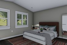 House Plan Design - Traditional Interior - Master Bedroom Plan #1060-97