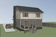 Home Plan - Country Exterior - Other Elevation Plan #79-284