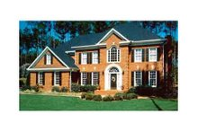 Dream House Plan - Colonial Exterior - Other Elevation Plan #429-7