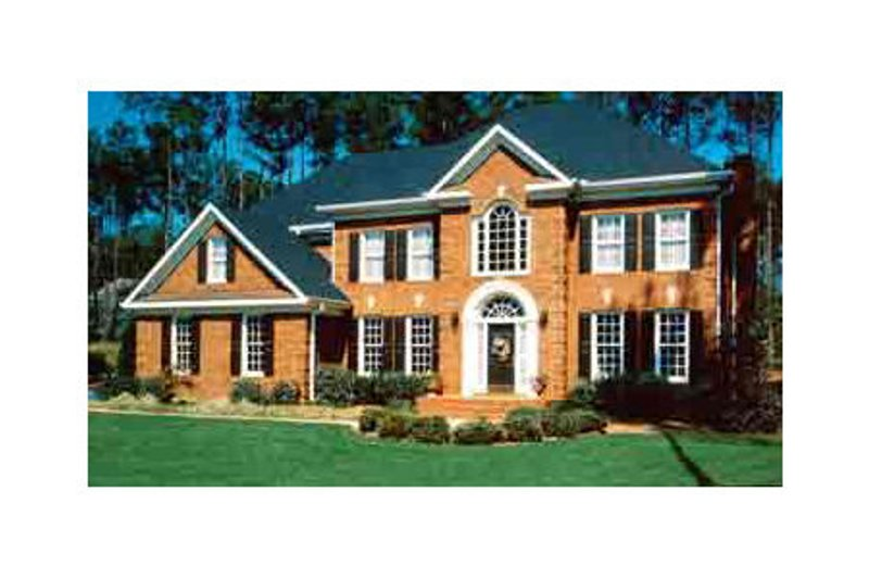 Colonial Exterior - Other Elevation Plan #429-7 - Houseplans.com