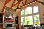 Craftsman Style House Plan - 3 Beds 2.5 Baths 2297 Sq/Ft Plan #437-61 Interior - Family Room