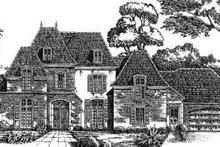 Architectural House Design - European Exterior - Front Elevation Plan #301-116