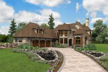 Home Plan - European Exterior - Front Elevation Plan #48-625