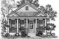 Southern Style House Plan - 3 Beds 2 Baths 1251 Sq/Ft Plan #325-133 Exterior - Front Elevation