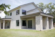 Modern Style House Plan - 4 Beds 2 Baths 1944 Sq/Ft Plan #23-2308 Exterior - Other Elevation