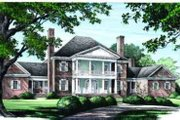 Classical Style House Plan - 4 Beds 4 Baths 4992 Sq/Ft Plan #137-113 Exterior - Other Elevation