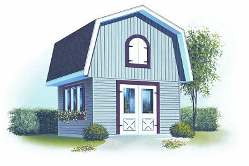 Dream House Plan - Traditional Exterior - Front Elevation Plan #23-764