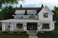 House Plan Design - Farmhouse Exterior - Front Elevation Plan #51-1153