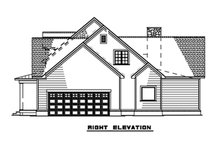 House Design - Right Side Elevation