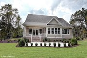 Ranch Style House Plan - 3 Beds 2 Baths 1908 Sq/Ft Plan #929-1013 Exterior - Rear Elevation