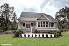 Home Plan - Ranch Exterior - Rear Elevation Plan #929-1013