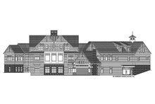 Architectural House Design - Craftsman Exterior - Rear Elevation Plan #928-292