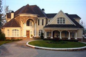 Architectural House Design - European Exterior - Front Elevation Plan #119-123