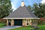European Style House Plan - 0 Beds 0 Baths 572 Sq/Ft Plan #45-262 Exterior - Front Elevation