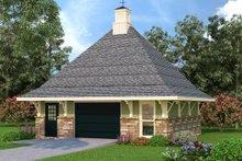 Architectural House Design - European Exterior - Front Elevation Plan #45-262