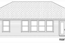 Traditional Exterior - Rear Elevation Plan #84-537
