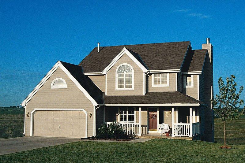 Craftsman Exterior - Front Elevation Plan #20-2191