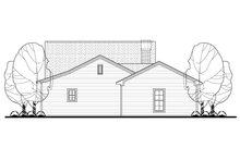 Cottage Exterior - Rear Elevation Plan #430-106
