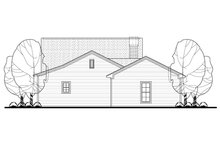 Dream House Plan - Cottage Exterior - Rear Elevation Plan #430-106