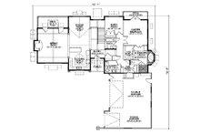 Traditional Floor Plan - Main Floor Plan Plan #5-264