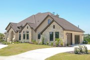 European Style House Plan - 4 Beds 4 Baths 4050 Sq/Ft Plan #80-160 Exterior - Other Elevation