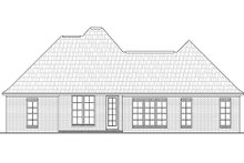 Home Plan - European Exterior - Rear Elevation Plan #430-27