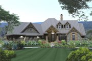 Craftsman Style House Plan - 3 Beds 2.5 Baths 2106 Sq/Ft Plan #120-175 Exterior - Front Elevation