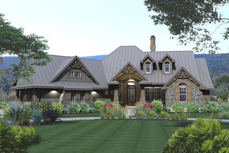 House Plan Design - Storybook craftsman home by David wiggins - 2100sft