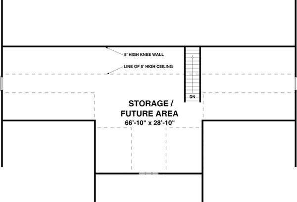 Ranch Floor Plan - Other Floor Plan #56-623