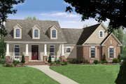 Country Style House Plan - 3 Beds 2.5 Baths 2085 Sq/Ft Plan #21-375 Exterior - Front Elevation