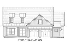 House Plan Design - Craftsman Exterior - Front Elevation Plan #1054-38