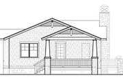 Bungalow Style House Plan - 3 Beds 2 Baths 1564 Sq/Ft Plan #490-26 Exterior - Rear Elevation