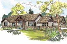Dream House Plan - Craftsman Exterior - Front Elevation Plan #124-583