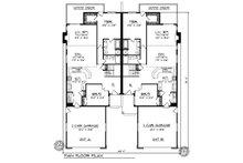 Traditional Floor Plan - Main Floor Plan Plan #70-1152