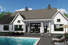 Home Plan - Farmhouse Exterior - Rear Elevation Plan #51-1134