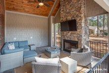 Architectural House Design - Ranch Exterior - Outdoor Living Plan #929-1005
