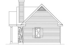 House Plan Design - Cottage Exterior - Other Elevation Plan #22-594