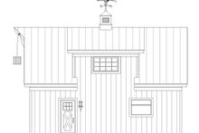 Dream House Plan - Farmhouse Exterior - Other Elevation Plan #932-323