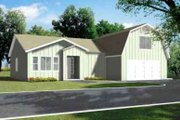 Country Style House Plan - 3 Beds 2 Baths 1694 Sq/Ft Plan #1-862 Exterior - Front Elevation