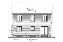 Traditional Exterior - Rear Elevation Plan #23-446