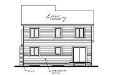 House Plan Design - Traditional Exterior - Rear Elevation Plan #23-446