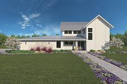 Farmhouse Style House Plan - 3 Beds 2.5 Baths 1917 Sq/Ft Plan #1068-1