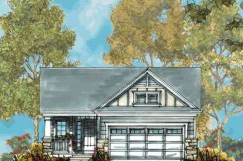 Architectural House Design - Farmhouse Exterior - Front Elevation Plan #20-1669