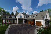 Farmhouse Style House Plan - 4 Beds 3.5 Baths 3052 Sq/Ft Plan #51-1145 Exterior - Front Elevation