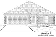 Traditional Style House Plan - 3 Beds 2 Baths 1538 Sq/Ft Plan #84-327 Exterior - Other Elevation