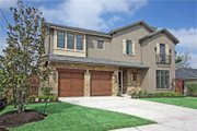 Mediterranean Style House Plan - 3 Beds 4 Baths 4472 Sq/Ft Plan #449-18 Exterior - Front Elevation