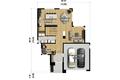 Modern Style House Plan - 3 Beds 2.5 Baths 2370 Sq/Ft Plan #25-4415 Floor Plan - Main Floor Plan
